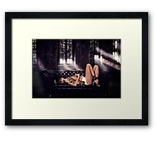 High Fashion Sofa Fine Art Print Framed Print