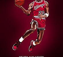 Michael Jordan by Rudi Gundersen