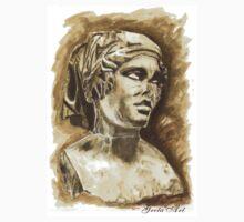 Female Bust - Sculpture I-III DC, Rome One Piece - Short Sleeve