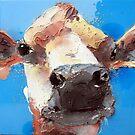 mucca blu by Nicoletta Belletti
