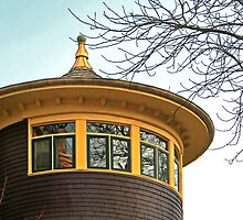 Turret on Pendrell by JCBimages
