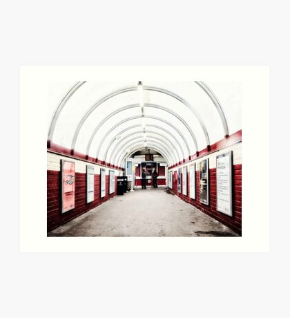 South Kenton Tube Station Art Print