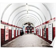 South Kenton Tube Station Poster