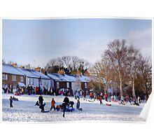 Winter Sports in Harpenden Poster