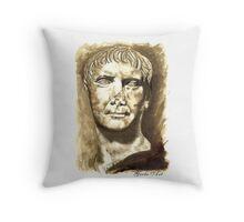 Emperor Trajan, Rome  I-II DC Throw Pillow
