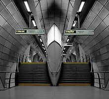 Southwark Tube Station by AntSmith