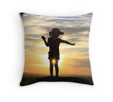 Sexy Sillouette Throw Pillow