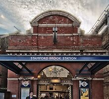 Stamford Brook Tube Station by AntSmith