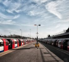 Stanmore Tube Station by AntSmith