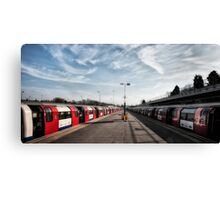 Stanmore Tube Station Canvas Print