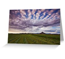 Cut Lucerne Greeting Card