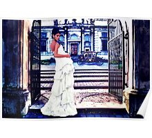 High Fashion Gate Fine Art Print Poster