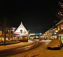 A winter evening in Renesse by Adri  Padmos