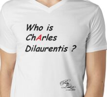 Who is Charles Dilaurentis ? Mens V-Neck T-Shirt