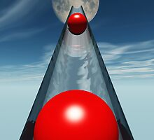 Red Balls From Space by Ostar-Digital