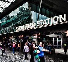 Stratford Tube Station by AntSmith