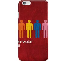 Reservoir Dogs Poster (Filtered) iPhone Case/Skin