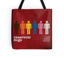 Reservoir Dogs Poster (Filtered) Tote Bag