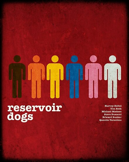 Reservoir Dogs Poster (Filtered) by Trapper Dixon