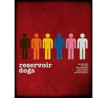 Reservoir Dogs Poster (Filtered) Photographic Print