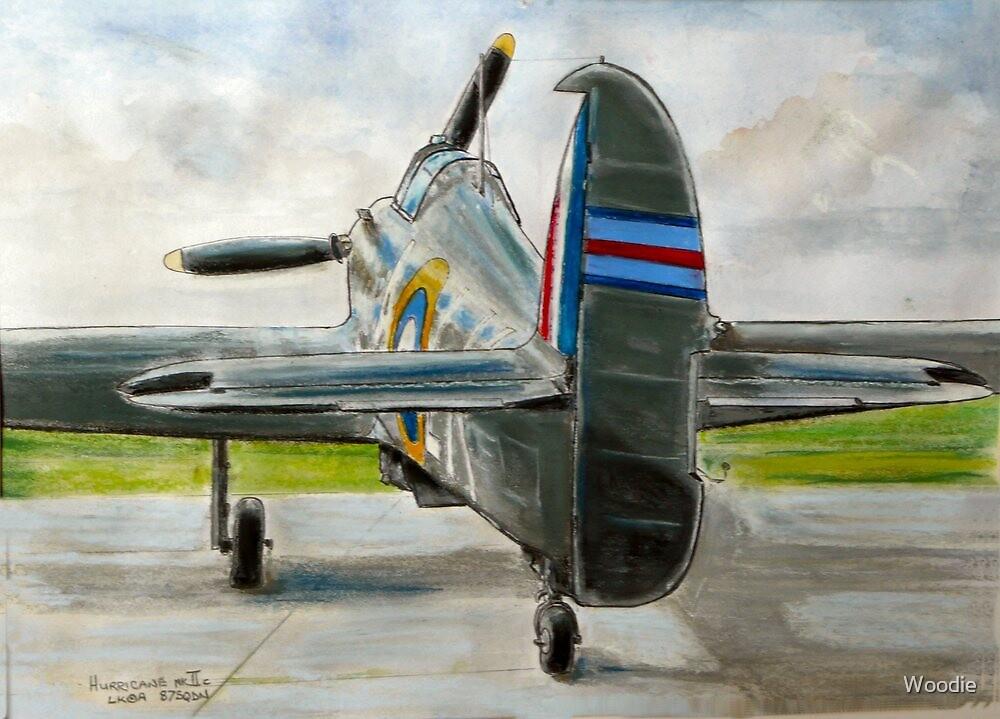 Hurricane Mk2c, LK-A by Woodie