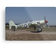 Hawker Sea Fury FB MK II Metal Print