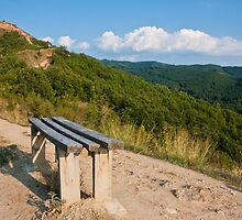 Mountain Bench by Nickolay Stanev