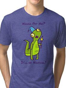Wizard Lizard Tri-blend T-Shirt