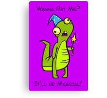 Wizard Lizard Canvas Print