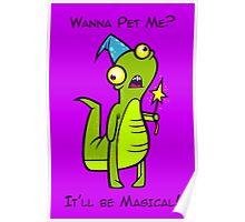 Wizard Lizard Poster