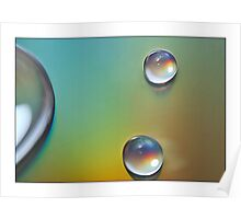 Droplets - 5 Poster