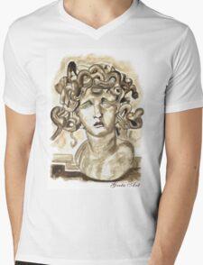 Head Of Meduse - 1630, Gian Lorenzo Bernini Mens V-Neck T-Shirt