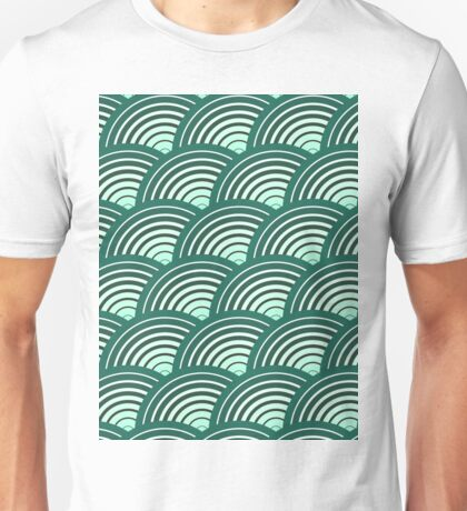 Scales pattern, Japanese inspired T-Shirt