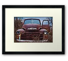 Chevy Campaign Framed Print