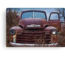 Chevy Campaign Canvas Print