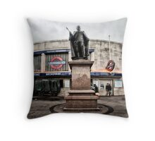 Tooting Broadway Tube Station Throw Pillow