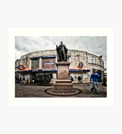 Tooting Broadway Tube Station Art Print