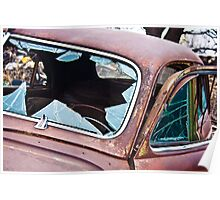 Buick Eight Windshield Poster