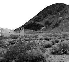 Distant History - Rhyolite, Nevada by VegasAngel
