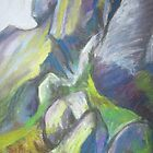 Cow and Calf 1 by Susan Duffey