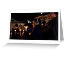 Carols by Candlelight Greeting Card