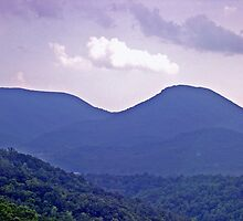 *THE BLUE RIDGE MOUNTAINS* by Van Coleman