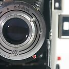 Close Up of an Antique Camera by mAriO vAllejO