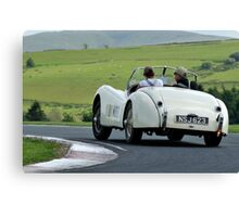 Three Castles Classic Rally of Wales .... Canvas Print