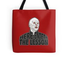 Here Endeth The Lesson - Buffy BTVS Tote Bag