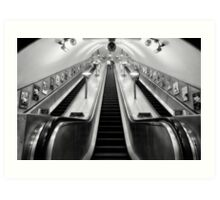 Turnpike Lane Tube Station Art Print