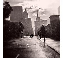 Escape in the Rain-409c Photographic Print