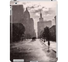 Escape in the Rain-409c iPad Case/Skin