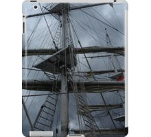 Stormy weather.....reef the topsails.......!   iPad Case/Skin