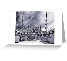 The Blue Mosque, Istanbul Greeting Card